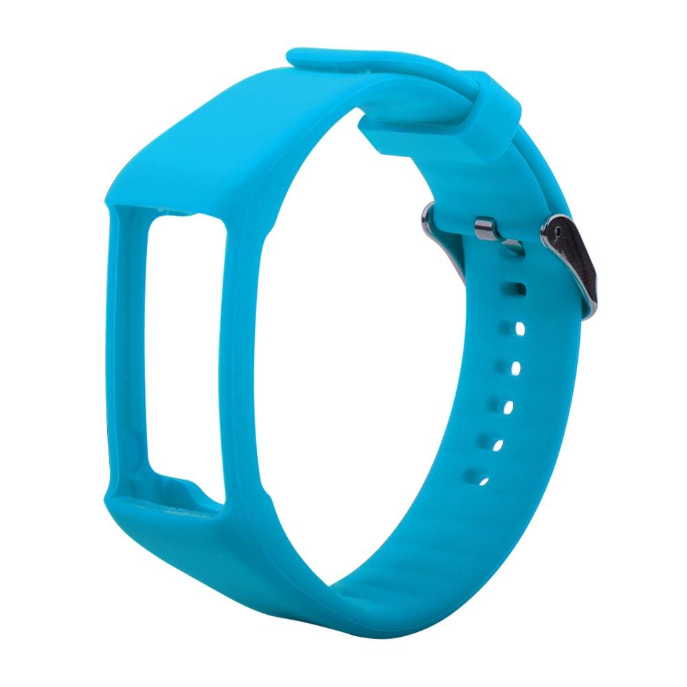 Pulseira de Reposição para Polar Alça Relógio Inteligente Substituição Pulseira Wrist Band Silicone Macio Cinto Acessório A360 A370 Gps