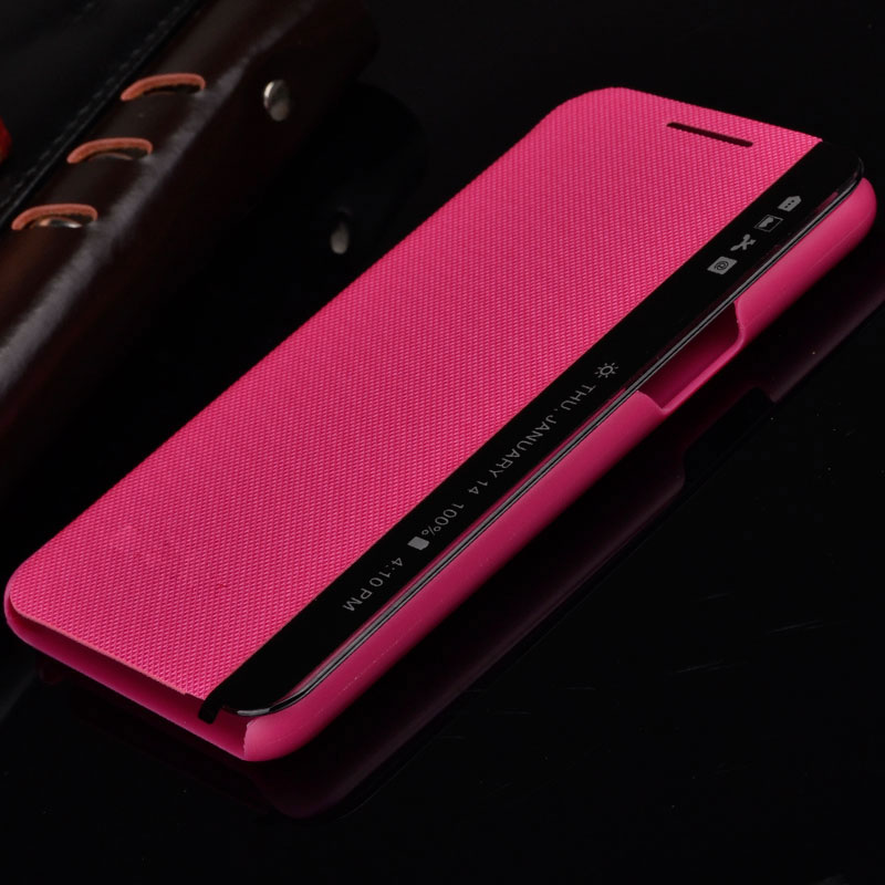 For LG X Power Case K220 K210 LS755 K450 Cover Leather Sleep View Window Flip Case On For LG X Power K220ds Phone Cases Xpower