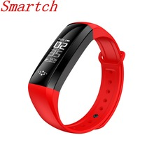 Smartch Smart Браслет Интеллектуальный стороны петли шаг шагомер, дистанции, счетчик калорий, мониторинг сна, дисплей часов, вызов disp