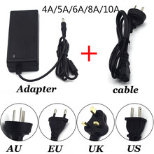AC100V - 240V DC5V Power Adapter Supply 1A 2A 3A 5A 6A 8A 10A Lighting Transformers LED Driver Power Adapter Strip Lamp(China)