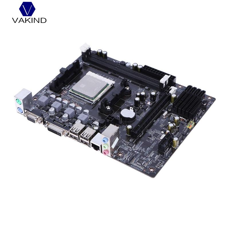 VAKIND A55-FM1 Desktop Computer Mainboard Motherboard CPU Interface A4-3300 CPU Dual Core For DDR3 1066/1333/1600 MHz new a55 motherboard fm1 desktop computer motherboard fm1 interface amd a8 a6 a4 e2cpu supports ddr3