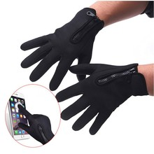1pair winter windstopper waterproof touch screen ski gloves -30 warm for outdoor riding motorcycle sport gloves