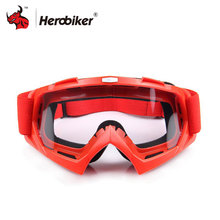 HEROBIKE Motocross Goggles Winter Skate Sled ATV Eyewear Sunglasses Motorcycle Goggles Clears Snowboard Goggles