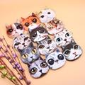 Новый Cute Cat Face Молнии для Монет Деньги кошелек Женский женские дети Кошелек Макияж Багги Сумка monederos infantiles