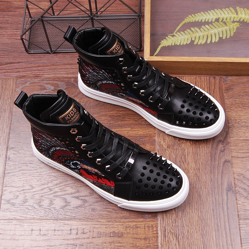 2019 Men Brand Fashion Party Loafers Ankle Shoes Metal Sheet and Gold Buckle Men Dress Shoes Rivets Toe Mens Flats-in Men's Casual Shoes from Shoes on Aliexpress.com | Alibaba Group 42