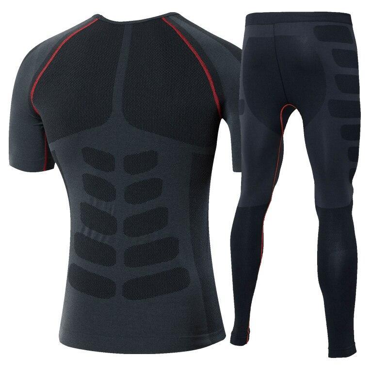 Nuevo juego de correr T Shirt Fitness Leggings Running Gym Training - Ropa deportiva y accesorios - foto 4