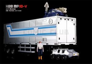 Image 5 - COMIC CLUB KBB Trasformazione OP Comandante MP10V rosso nero bianco Della Lega di Metallo Con Zaino Action Figure Giocattoli Robot