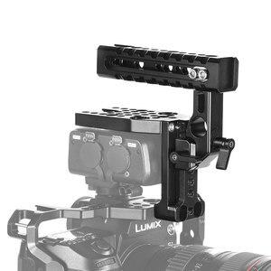 "Image 4 - SmallRig DMW XLR1 קסדת ערכת עבור Panasonic S1/S1R ו GH5/GH5S מצלמה כלוב למעלה ידית ערכת עם קר נעל/נאט""ו רכבת 2367"
