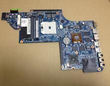 665281-001 Laptop Motherboard For Hp Pavilion DV6-6C main board DDR2 with Graphics 55.4RI01.261G