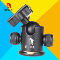 BEIKE BK-03 Aluminum Alloy Tripod Ball Head With Quick Release Plate & Two Levels Maximum Load 8KG For Benro Manfrotto