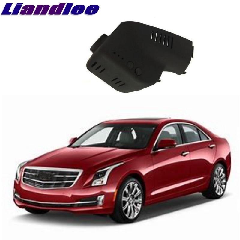 Liandlee For Cadillac ATS 2013~2018 Car Black Box WiFi DVR Dash Camera Driving Video Recorder цена