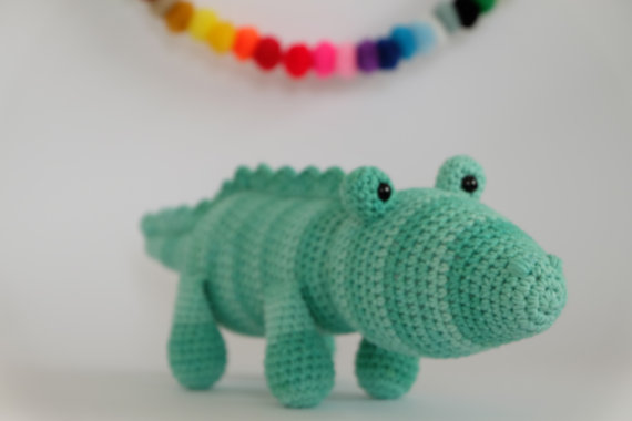 ФОТО Crochet Amigurumi Crocodile