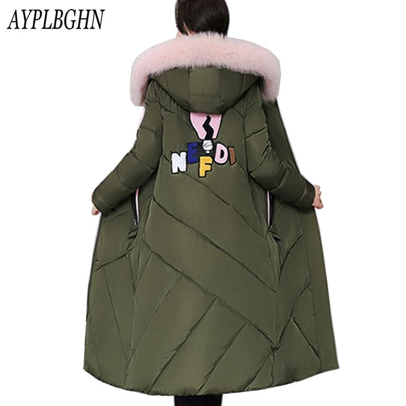 Winter font b Jacket b font font b Women b font Hooded Thicken Coat Female Fashion