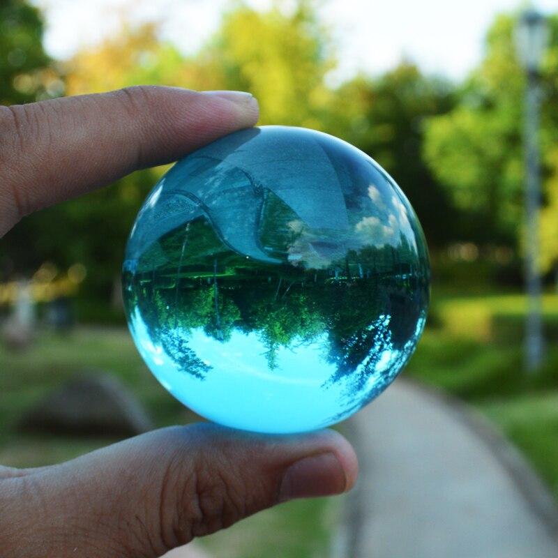 1 Parça 50 mm Kristal Top Müxtəlif Rənglər Ev Dekorasiyası - Ev dekoru - Fotoqrafiya 5
