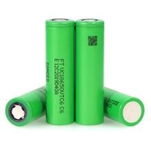 3.7V VTC6 3000 mAh Lithium rechargeable Battery 18650 20A Discharge VC18650VTC6 Flashlight E-cigarette batteries