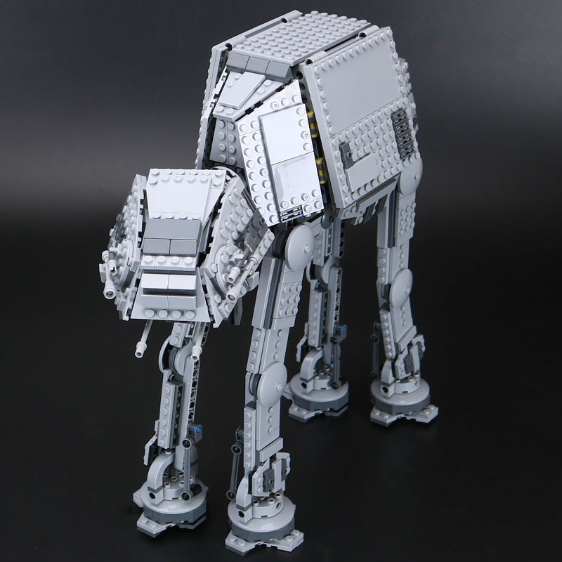 1157Pcs Lepin 05051 Star War Series Force Awaken The AT-AT Transpotation Armored Robot 75054 Building Blocks Bricks funny Toy rollercoasters the war of the worlds