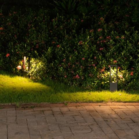minimalista paisagem luz jardim villa luz jardim