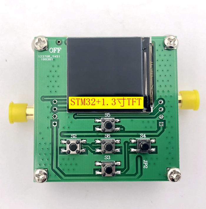 HMC833 25M 6GHZ RF signal source Phase locked loop Sweep source STM32 control Open source TFT