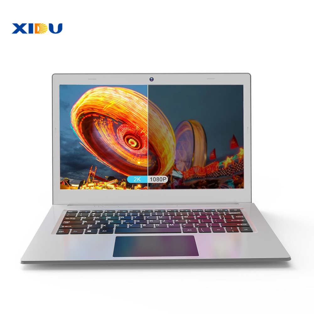 Image 3 - XIDU 12.5'' 2K 2560X1440IPS Laptop Intel Celeron N3450 Quad Core Tablet Processor 6GB 64GB Notebook Backlit Keyboard Windows10-in Laptops from Computer & Office