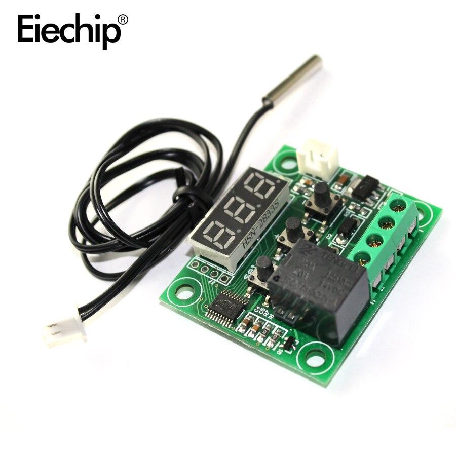 W1209 LED numérique DC 12 V + capteur NTC chaleur température froide thermostat Module interrupteur de température contrôleur marche/arrêt carte électronique bricolage