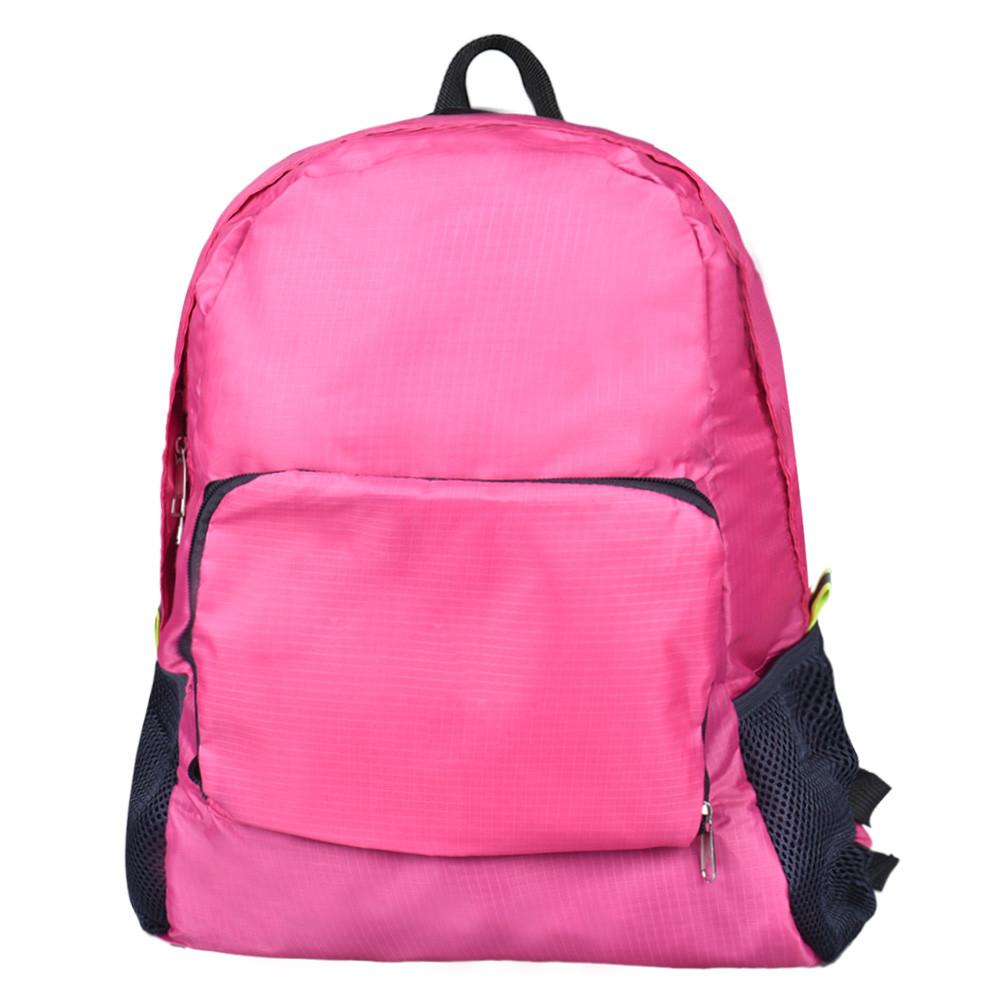 de nylon dobrável sacolas de Tipo 1 : Laptop Backpack, school Bag