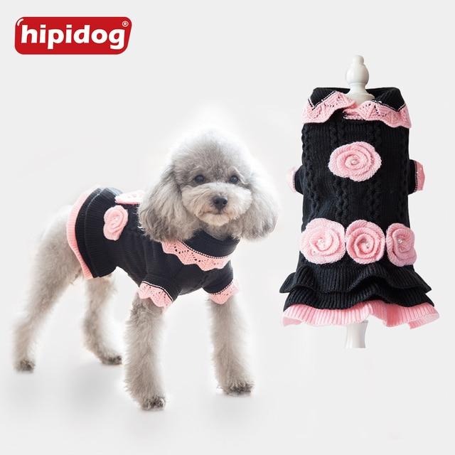 Hipidog Pet Clothes For Small Dogs Chihuahua Yorkshire Princess ...