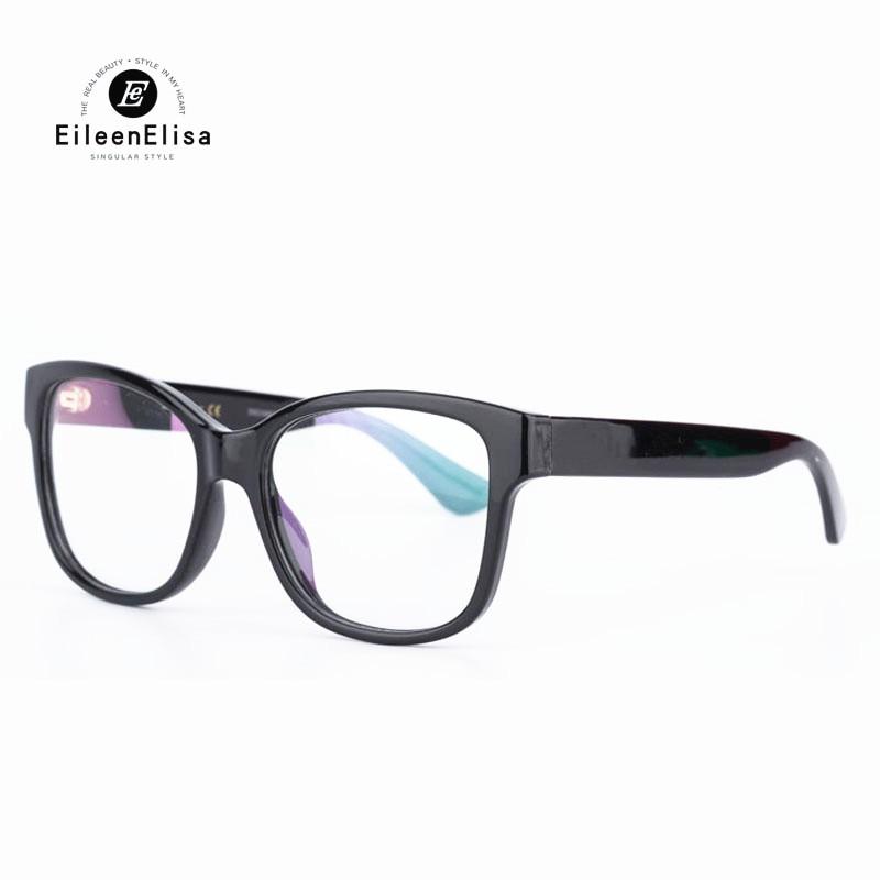 bdec9bee8578 Women s Eyeglasses Frame 2018 High Quality Acetate Clear Lens Frame Glasses  Optical Fashion Women Flasses Frame