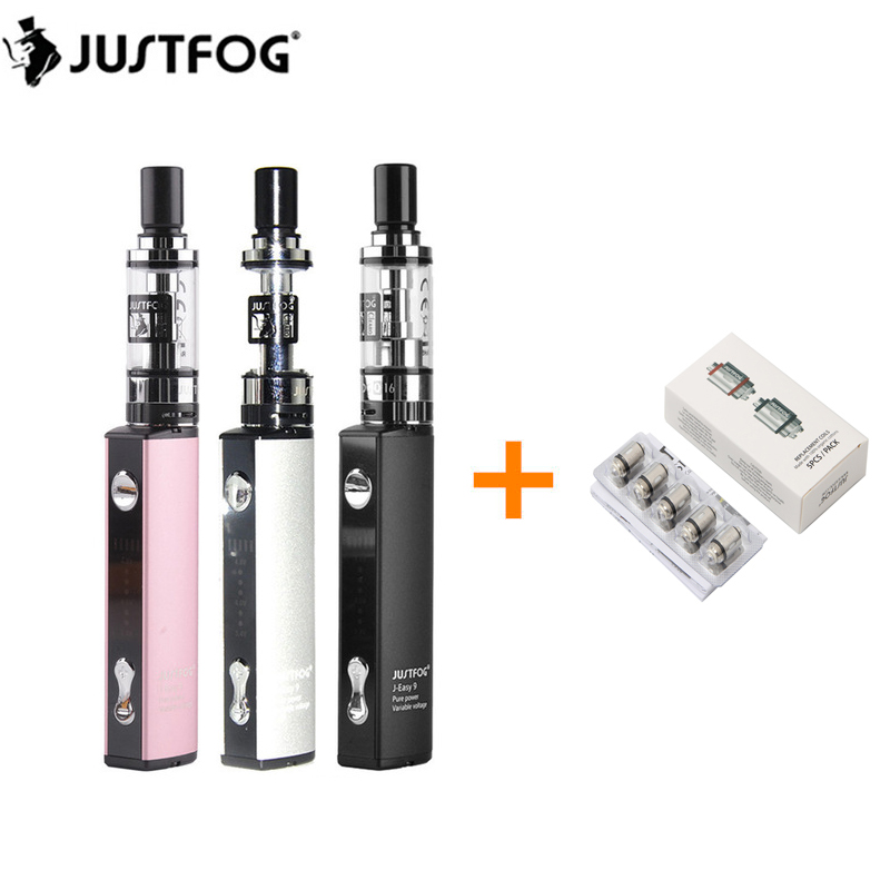 Original Justfog Q16 Starter Kit With 900mah Vape Battery And 1.9ml Clearomizer Tank Electronic Cigarettes Vaporizer Vape Kit