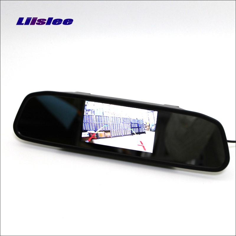 Liislee For Lexus RX330 / RX350 / RX400h Rearview Mirror Car Monitor Screen Display /HD TFT LCD NTSC PAL Color TV System
