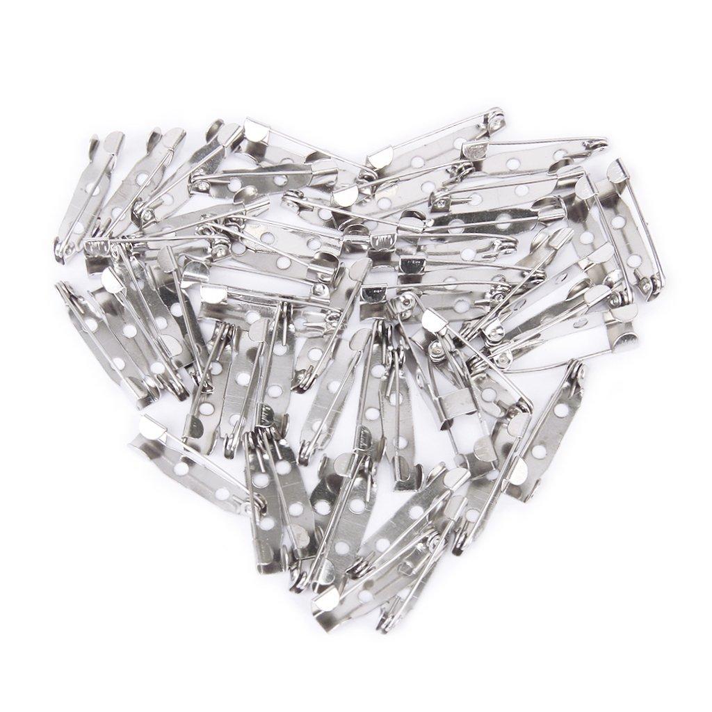 50 шт/партия Брошь тыльная шпилька фурнитура для изготовления украшений вручную DIY подарки для женщин мужчин белый K тон Железный Металл 20 мм on Aliexpress.com | Alibaba Group