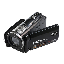 Sale ORDRO HDV-F5 Video Camera Full HD Camcorder 1080P 3.0″ Rotatable LCD Touch Screen Camcorders 16X Zoom Digital Camcorder DVR
