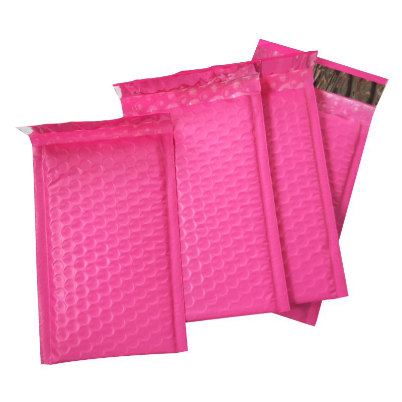 10pcs/6x9-Inch/175*230mm Poly Bubble Mailer Pink Self Seal Padded Envelopes/mailing Bags
