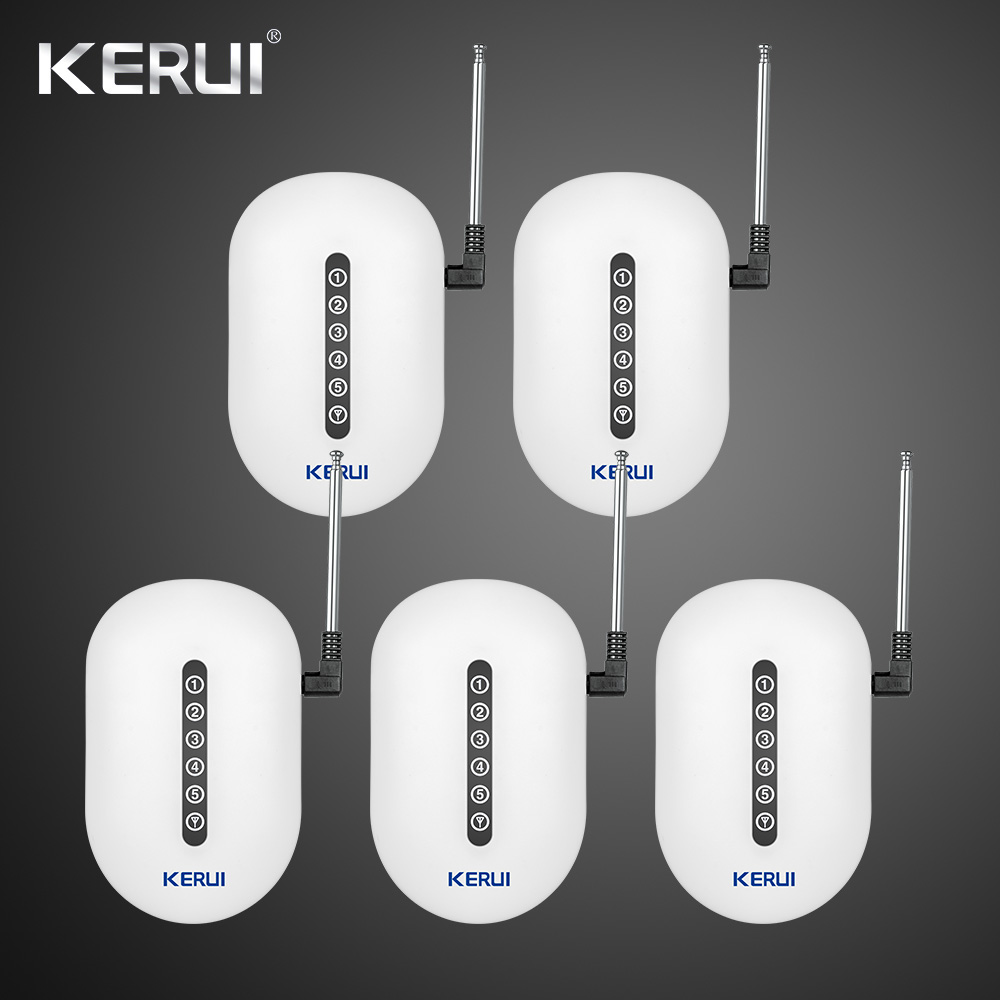 433MHz 5pcs Kerui Wireless Signal Repeater Transmitter Sensros Signal Expander Booster Extender For Home Alarm Security System