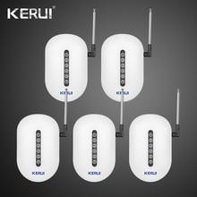 433 МГц 5 шт. Kerui беспроводной сигнальный повторитель передатчик Sensros расширитель сигнала Усилитель расширитель для домашней сигнализации системы безопасности