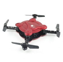 Fq777 fq17w wifi bolsillo plegable fpv drone fpv 0.3mp cámara de altitud hold modo rc quacopter no transmisor bnf versión f20370/2