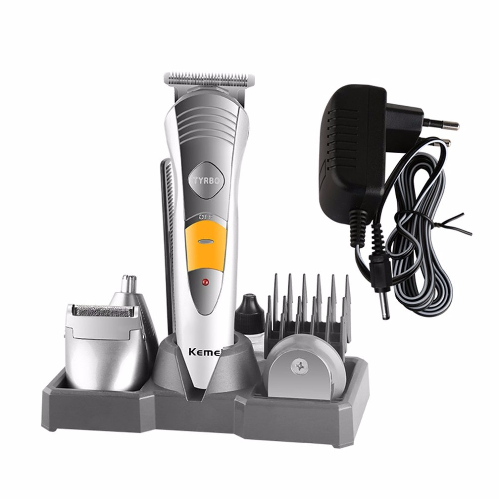 7 In 1 Electric Barber Scissor Hair Clipper Shaver For Household Professional Hair Salon Hair Razor Personal Care Tool Hot Sale