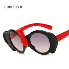 8c8166eae3e Hindfield 2017 Summer Cute Cartoon Elephant Kids Children Sunglasses  Anti-UV Protection Trend Boy Girl Sun Glasses oculos