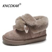 Hot Sale Winter New Warm Plush Women Snow Boots Lovely Hair Ball Belt Short Tube Flat Fashion Anti Skid Snow Casual Shoes x0063