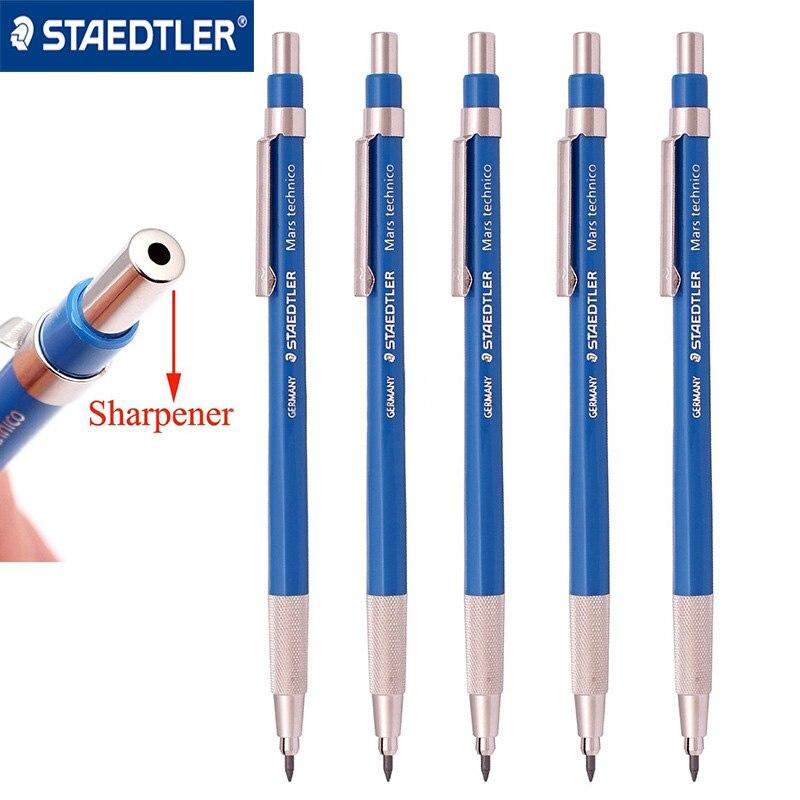 1Pcs STAEDTLER 780 C Mechanical Pencils+Eraser Set School Stationery  Metal Mechanical Pencil Rod With Sharpener 2.0mm
