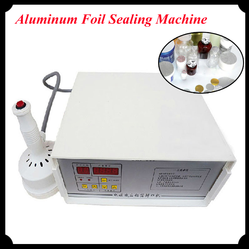 цены Aluminum Foil Sealing Machine Elecomagnetic Induction Fast Work Continuous Induction Sealer for Bottles GLF500