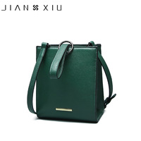 JIANXIU Brand Genuine Leather Handbags Sac A Main Mujer Women Messenger Bag Small Shoulder Crossbody Bags
