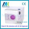 Europa 18L Clase B Autoclave Dental Médica con Impresora De Laboratorio Equipos de Vacío De Vapor Esterilizador con CE e ISO Descuento Grande