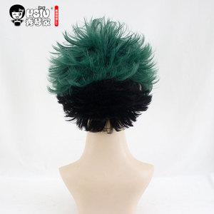 Image 2 - HSIU חדש Izuku Midoriya פאת קוספליי שלי גיבור האקדמיה תלבושות לשחק פאות ליל כל הקדושים תלבושות שיער משלוח חינם באיכות גבוהה