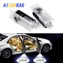AICARKAS двери светодио дный светодиодный лазерный логотип проектор свет для BMW Добро пожаловать логотип земля Беспроводная лампа для BMW 3/5/6/7/Z/GT/X/Mini серии