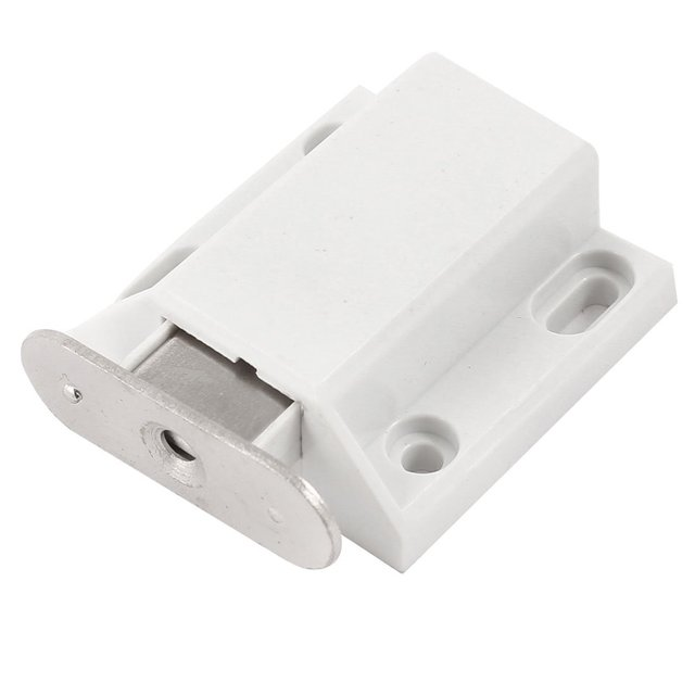 Exceptionnel White Push To Open Magnetic Door Drawer Cabinet Catch Touch Latch