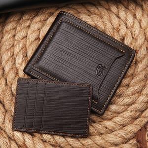 Новый модный брендовый кошелек, мужской кошелек с карманом для монет, короткий клатч, кошельки, нож для кредитных карт, зажим для денег, кред...
