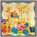90cm * 90cm new scarf bicycle gift gift box ladies scarf large square towel