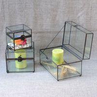 Jewelry box jewelry box glass crafts couple gifts wedding gifts antique storage box