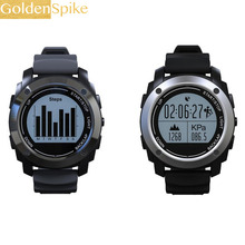 GOLDENSPIKE S928 Real-time HeartRate Track Smart Watch Bluetooth GPS Sport Smartwatch Pedometer Sedentary Remind Sleep Monitor