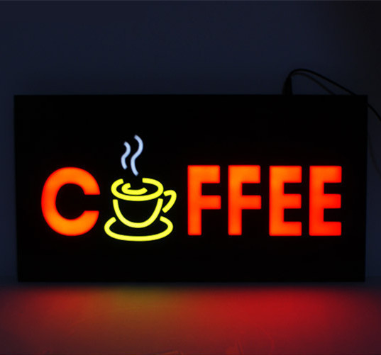 Shop Open Sign Lights: NEW Cheap Custom LED Shop Open Signs Coffee Business LED